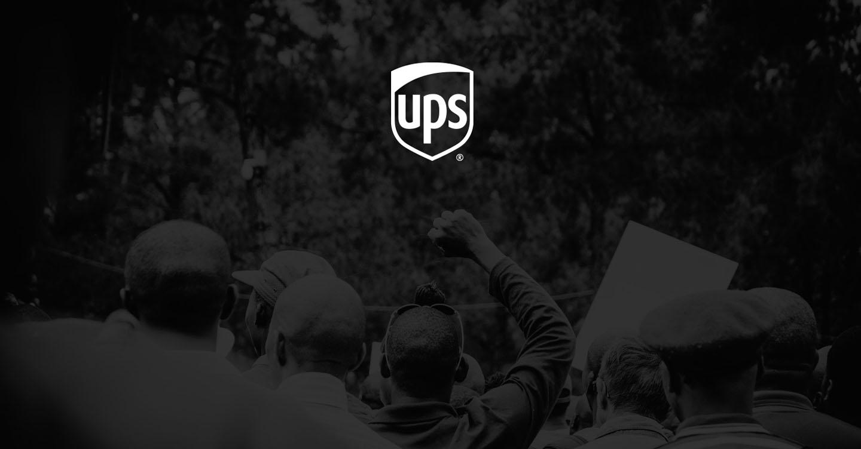 Eine wichtige Botschaft von UPS CEO Carol B. Tomé.