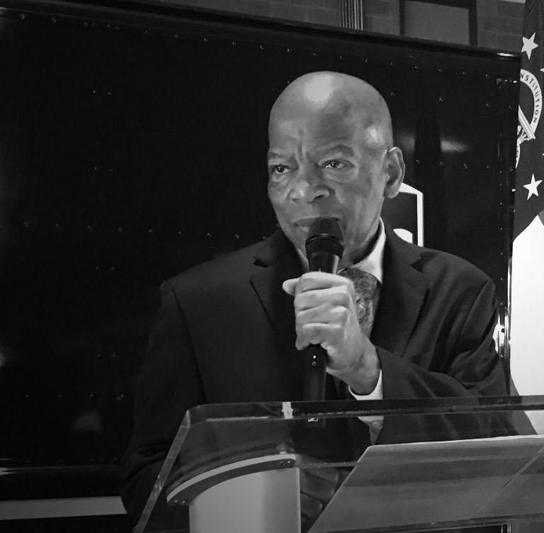 UPS 哀悼國會議員 Lewis 的逝世